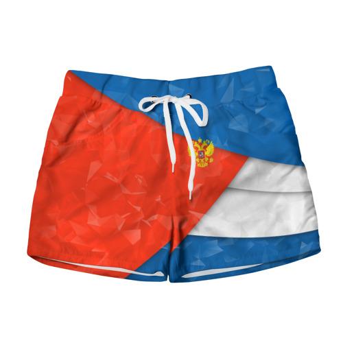 Женские шорты 3D RUSSIA SPORT