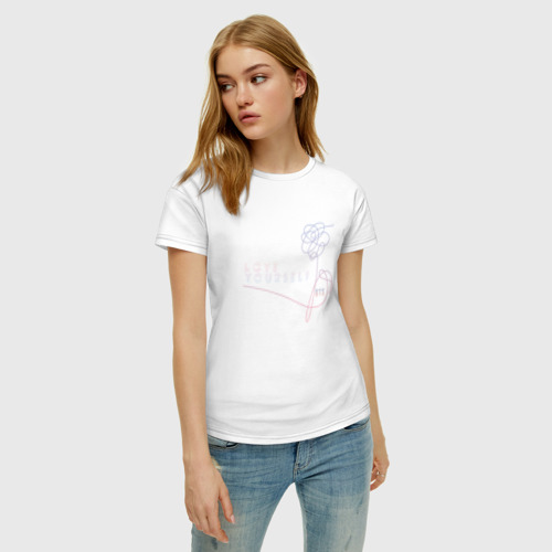 Женская футболка хлопок LU Фото 01