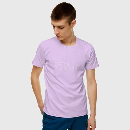 Мужская футболка хлопок LOVR YOUSELF Фото 01