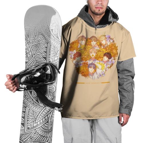 Накидка на куртку 3D  Фото 01, LOVE YOURSELF_3