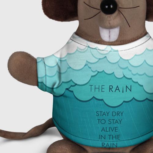 Игрушка Мышь в футболке 3D Stay dry. Stay alive Фото 01