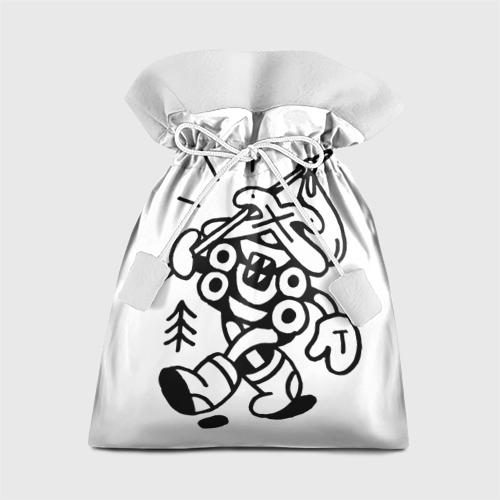 Подарочный 3D мешок Избушка