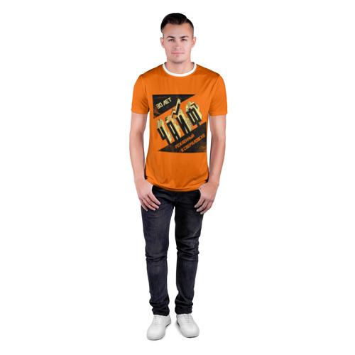 Мужская футболка 3D спортивная 30 лет Фото 01