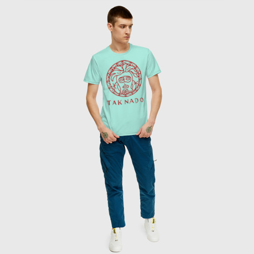 Мужская футболка хлопок Taknado медуза Фото 01