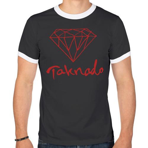 Мужская футболка рингер Taknado Diamond