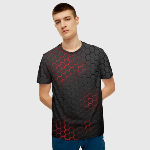 Мужская футболка 3D СТАЛЬНАЯ БРОНЯ Фото 01