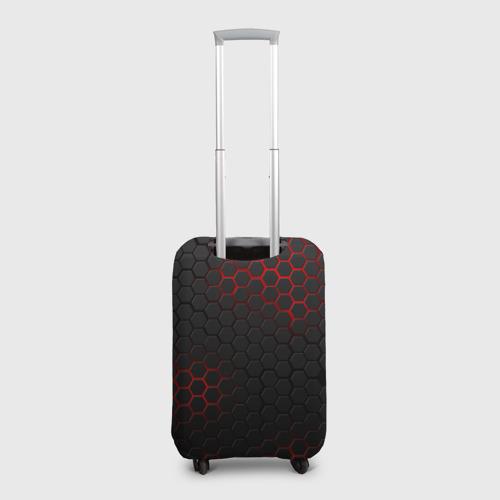 Чехол для чемодана 3D СТАЛЬНАЯ БРОНЯ Фото 01