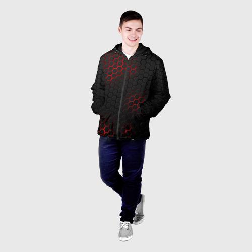 Мужская куртка 3D СТАЛЬНАЯ БРОНЯ Фото 01