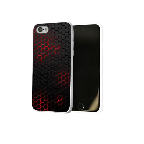 Чехол для Apple iPhone 8 силиконовый глянцевый СТАЛЬНАЯ БРОНЯ Фото 01