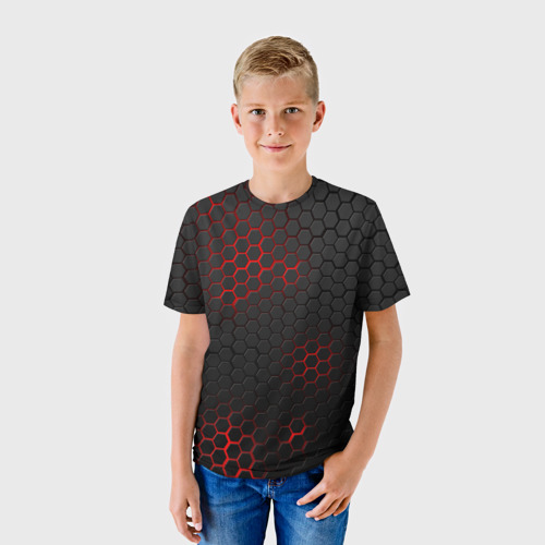 Детская футболка 3D СТАЛЬНАЯ БРОНЯ