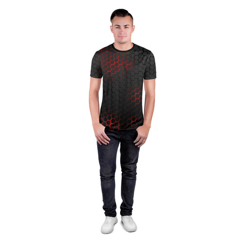 Мужская футболка 3D спортивная СТАЛЬНАЯ БРОНЯ Фото 01