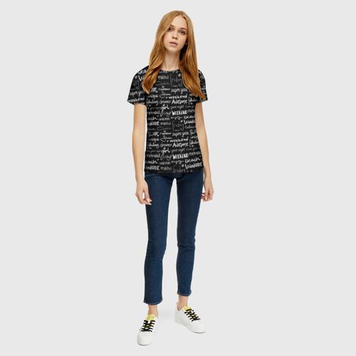 Женская футболка 3D Swet Фото 01