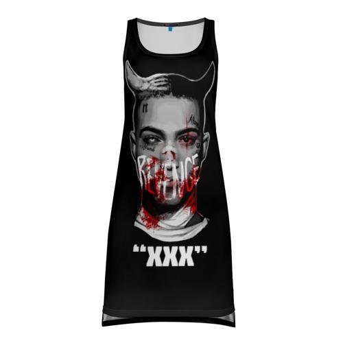 """9463872cbf5 Платье-майка 3D с принтом или надписью """"XXX REVENGE"""""""