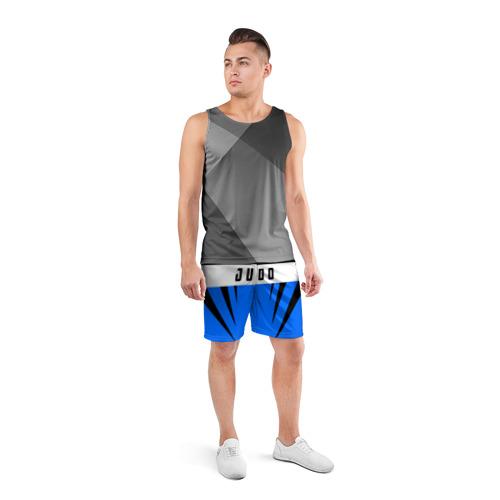 Мужские шорты 3D спортивные  Фото 04, Judo
