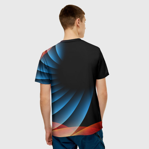 Мужская футболка 3D Russia sport Фото 01