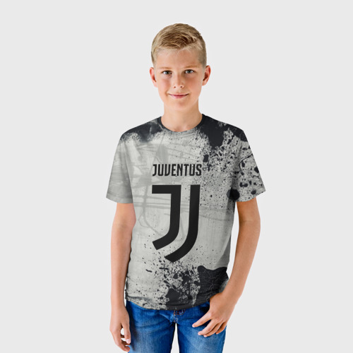 Детская футболка 3D  Фото 01, Juventus New