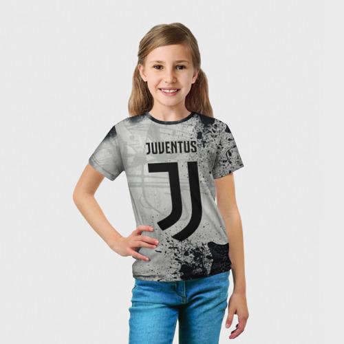 Детская футболка 3D  Фото 03, Juventus New