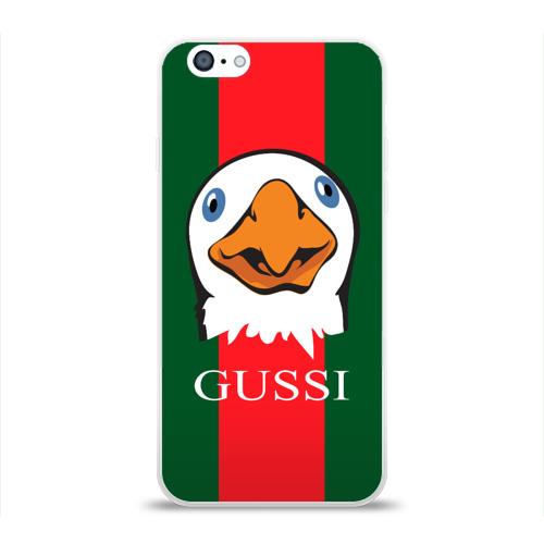 Чехол для Apple iPhone 6 силиконовый глянцевый GUSSI Фото 01