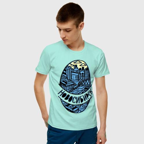 Мужская футболка хлопок Новосибирск Фото 01