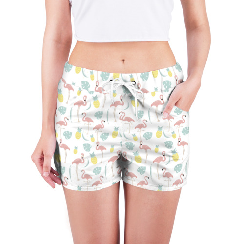 Женские шорты 3D  Фото 03, Живые тропики