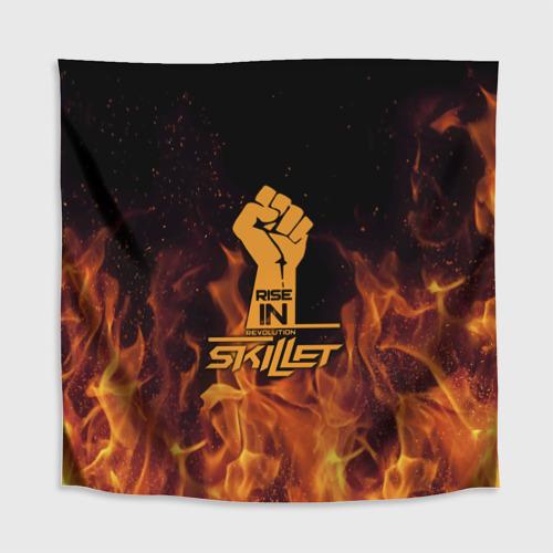 Скатерть 3D  Фото 02, Rise in revolution - Skillet