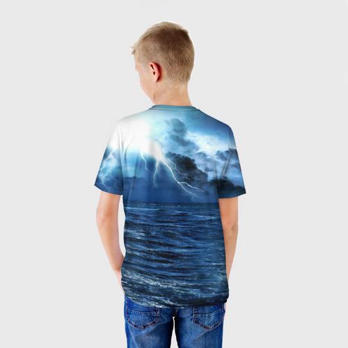 Детская футболка 3D  Фото 02, God of WAR