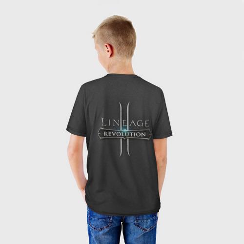Детская футболка 3D LineAge 2 Revolution Фото 01