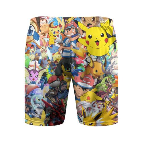 Мужские шорты 3D спортивные  Фото 02, Pokemon