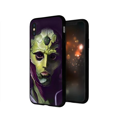 Чехол для Apple iPhone X силиконовый глянцевый Mass Effect Фото 01