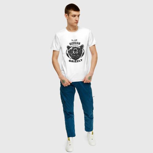 Мужская футболка хлопок Русский Медведь Фото 01