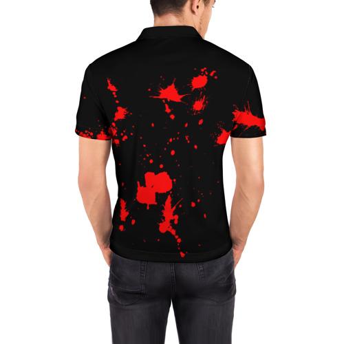 Мужская рубашка поло 3D Slipknot Фото 01