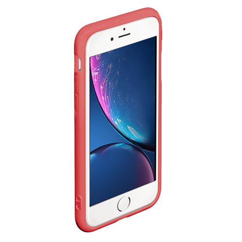 Чехол для iPhone 6Plus/6S Plus матовый ЕДИНОРОГ РАДУГА Фото 01