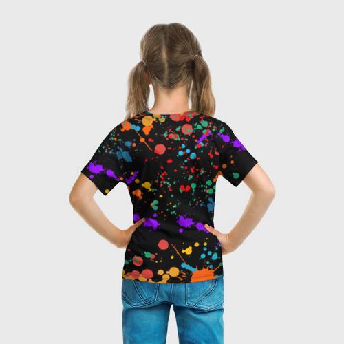Детская футболка 3D ЕДИНОРОГ РАДУГА (ЧЕРНЫЙ) Фото 01