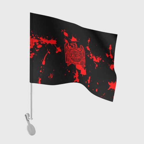 Флаг для автомобиля  Фото 01, Slayer