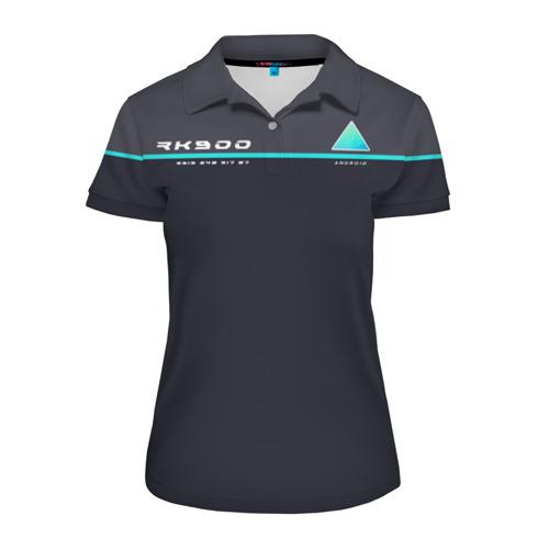Женская рубашка поло 3D Detroit RK900