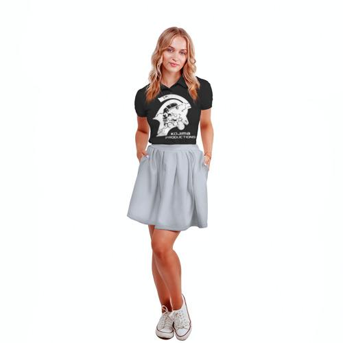 Женская рубашка поло 3D  Фото 04, KOJIMA PRODUCTIONS