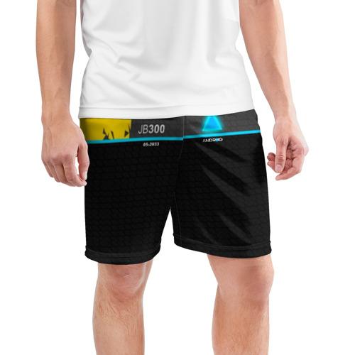 Мужские шорты 3D спортивные  Фото 03, JB 300 ANDROID