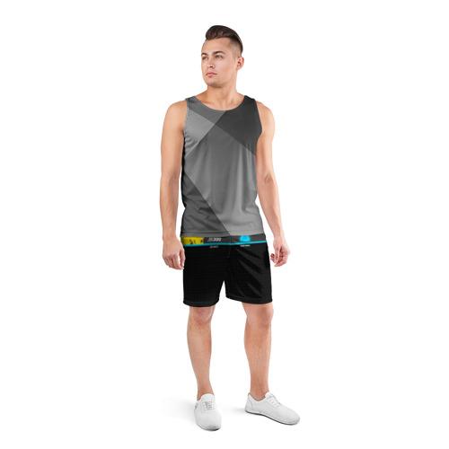 Мужские шорты 3D спортивные  Фото 04, JB 300 ANDROID