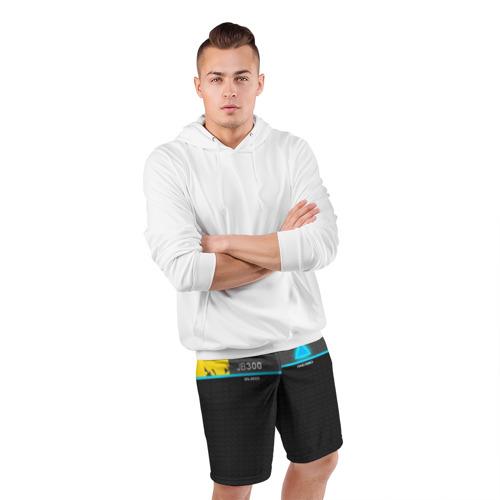Мужские шорты 3D спортивные  Фото 05, JB 300 ANDROID