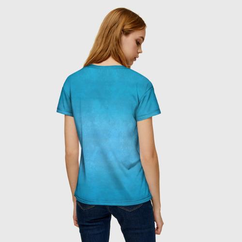Женская футболка 3D Дельфин Фото 01