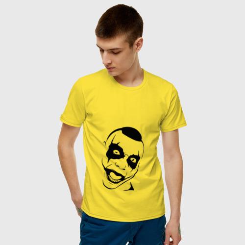 Мужская футболка хлопок Тони Раут Фото 01