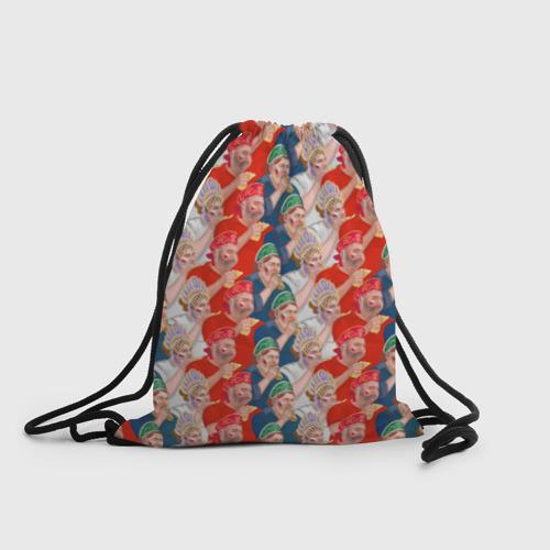 Рюкзак-мешок 3D Россия-Испания 2018 Фото 01