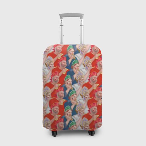 Чехол для чемодана 3D Россия-Испания 2018 Фото 01