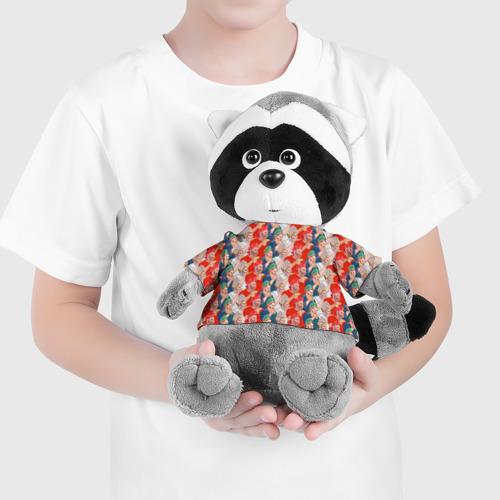 Енотик в футболке 3D Россия-Испания 2018 Фото 01