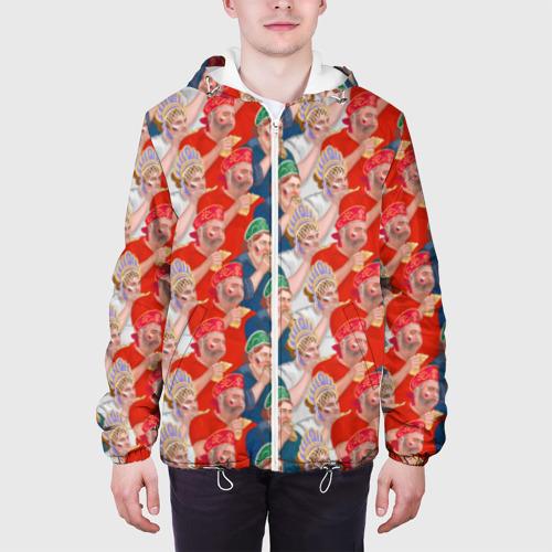 Мужская куртка 3D Россия-Испания 2018 Фото 01