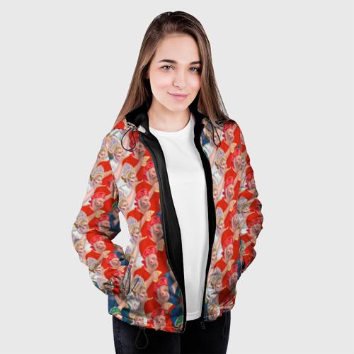 Женская куртка 3D Россия-Испания 2018 Фото 01