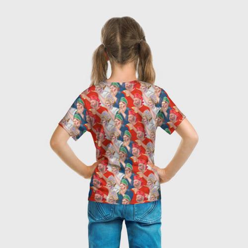 Детская футболка 3D Россия-Испания 2018 Фото 01