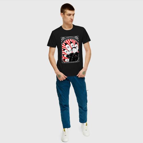 Мужская футболка хлопок Ким чен ын - Goodbye America! Фото 01