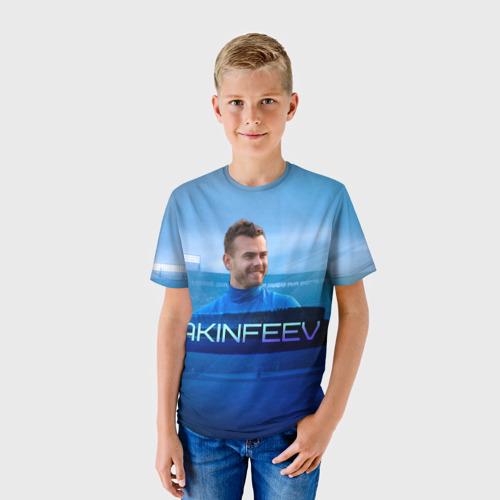 Детская футболка 3D Игорь Акинфеев