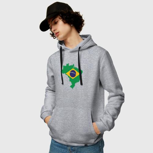 Мужская толстовка хлопок Бразилия Фото 01